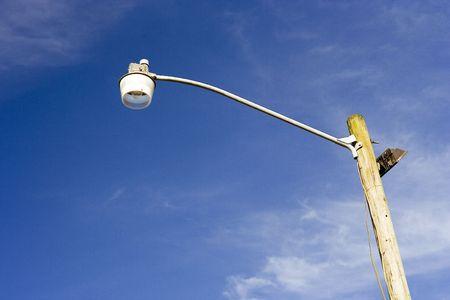 Tall street lamp