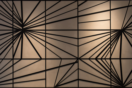 complex: Abstract background in complex line with dark beige colour