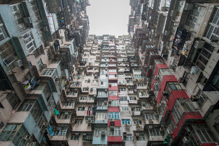 residential building: Fok Cheong Building - a residential building in Hong Kong