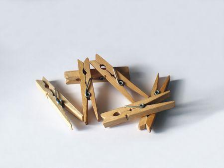 tend: Heap of tweezers Stock Photo