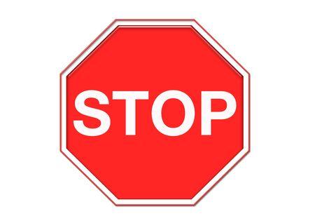 Stop sign Stock fotó