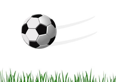 Soccer ball illustration Stock Photo