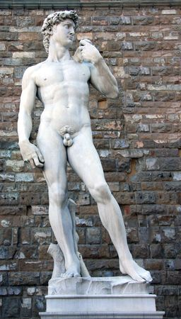 Florence, statue of David of Michelangelo