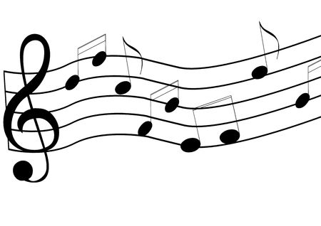 Music Notes Imagens - 6854059