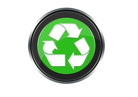 Recycling symbol Stock Photo - 6974388