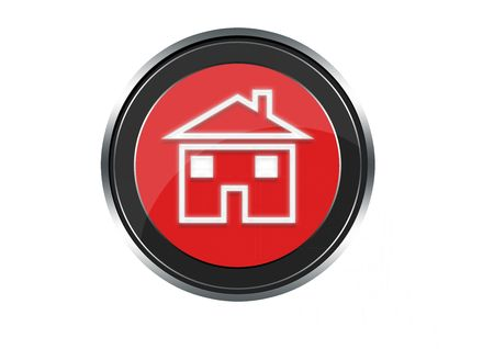 Home button Stock Photo - 6974391