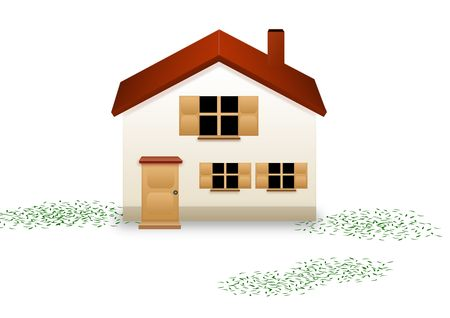 first time buyer: Home sweet Home Stock Photo
