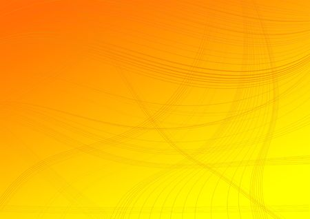 Lines on an orange degraded background
