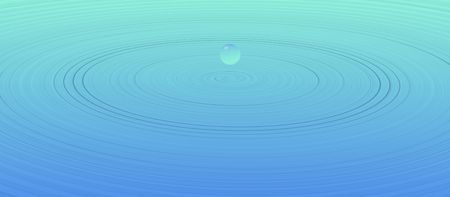 liquidate:  water drop illustration Stock Photo
