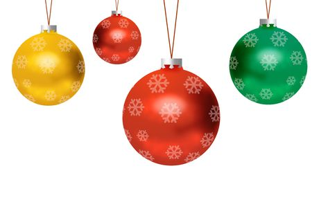 christmas sphere: Christmas Balls