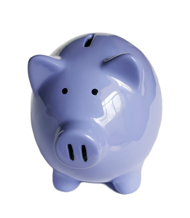 isolated Piggy bank