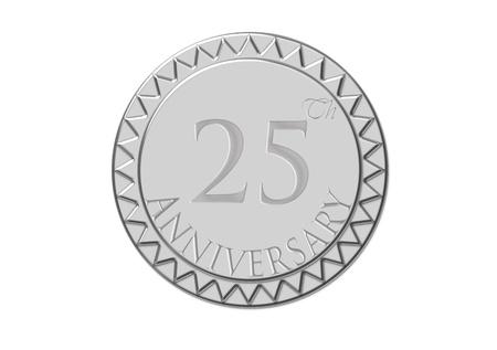 Twenty-five anniversary Stock Photo - 10886472