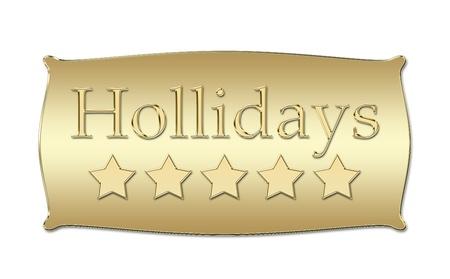 hollidays: five stars Hollidays board