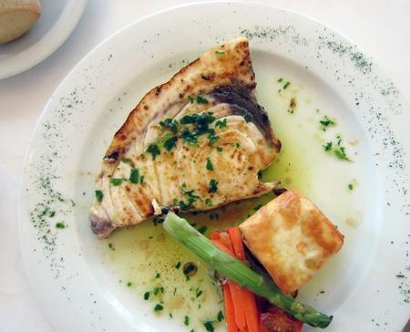 Grouper freshly cooked