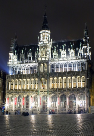 Museum of the city in the Grand Place of Brussels, Belgium Stock Photo - 13260208