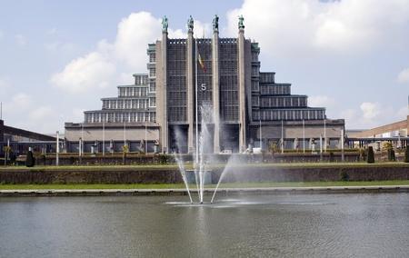 Belgium independence memorial building