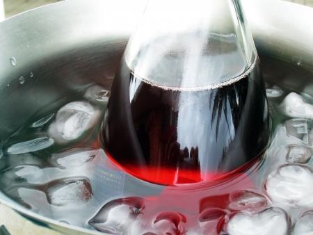 lambrusco: bottle of wine Lambrusco rosso chiaro secco
