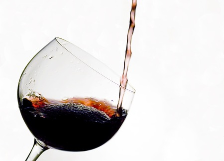 Cup of red wine