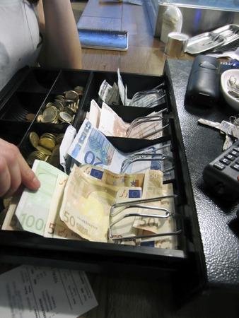 Cash register Imagens
