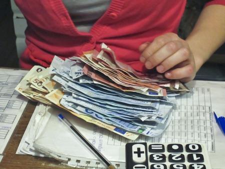 billets euros: Le comptage des billets en euros