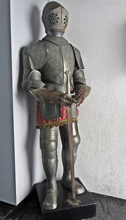 Old Spanish Knight armor