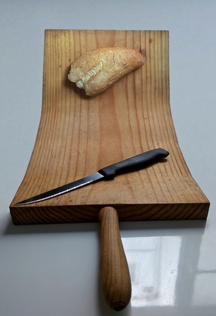 Knife and bread