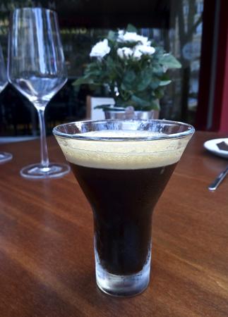 italian Shakerato Coffee Imagens