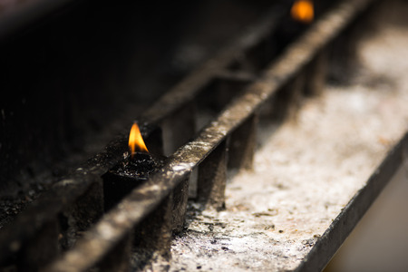 Fire for lighting incense