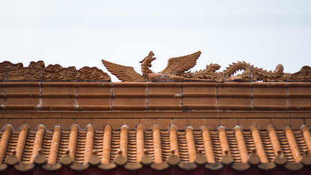 Decorated Temple Roof