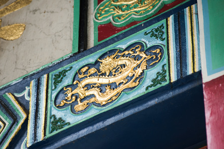 Ancient Temple architecture - Won tai sin temple: Temple Roof