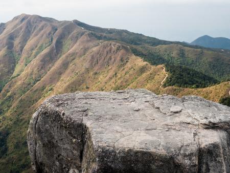 rock stone and mountain Stock Photo