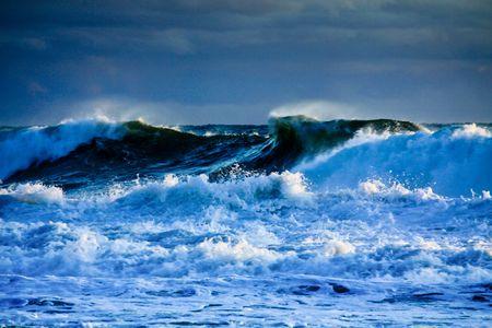 feroz: Fierce Malibu, CA Pacific Ocean winter storm
