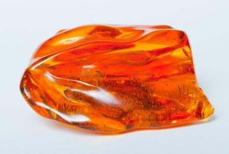 Vintage echte Baltische amber steen, witte und