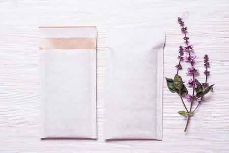 White paper Padded envelopes
