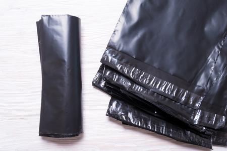 Black polythene envelopes