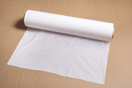 White pallet polythene film