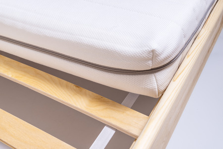 Bettmatratze strukturierter Hintergrund Standard-Bild