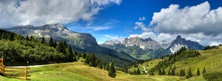 Dolomites - view Alta Badia photo