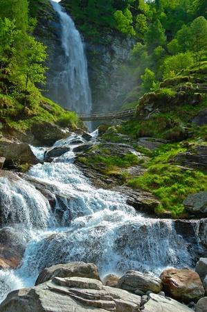 Waterfall Froda - Sonogno, Switzerland