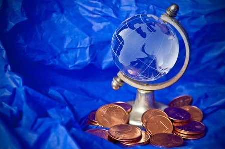 global finance in serious economic difficulty Stock Photo - 13521786
