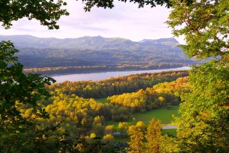 Columbia River Gorge in northwestern Oregon 版權商用圖片