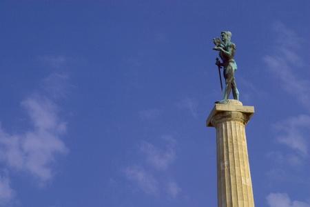 serbia: Statue of Pobednik, Belgrade , Serbia