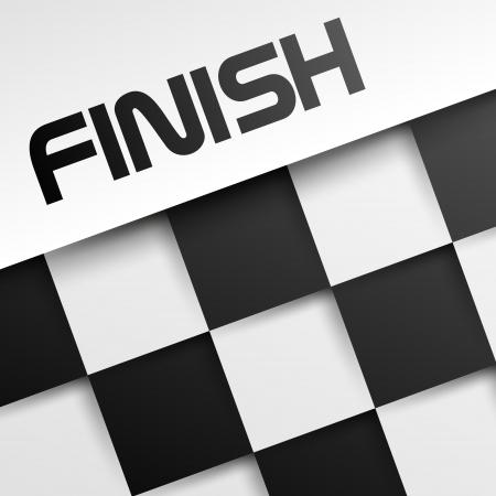 race winner: finish square template, winnig template,