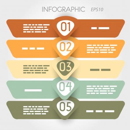 rouned infogr Ilustração