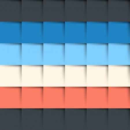 square rows infographic 6 rows  infographic concept