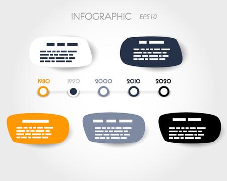 #22367927   Blase Infografik Timeline