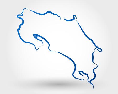 nacional: mapa de Costa Rica mapa conceptual