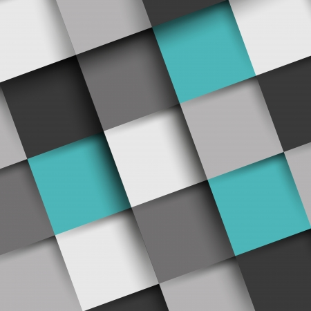 grey and turquoise square shadow background. background concept. Vector