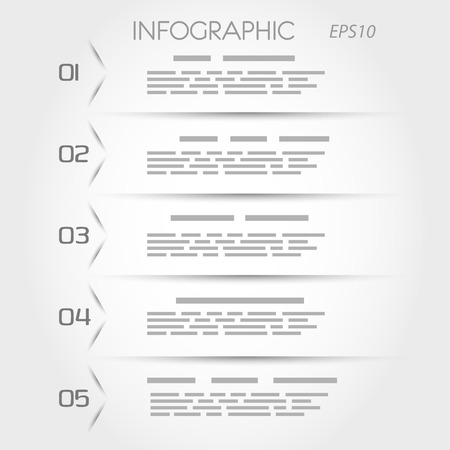 article: orange transparent triangular infographic five options. infographic concept.