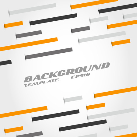 orange and grey line abstract background. infographic concept. Stock Vector - 22395735